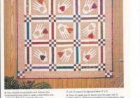 Interesting hearts and hands quilt heart quilt square quilt hand 9 Elegant Heart To Hand Quilt Patterns Gallery