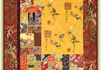 Interesting quilt inspiration japanese quilts 9 Elegant Asian Quilt Fabric Gallery