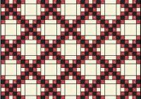 irish chain quilt pattern single double and triple irish Cool Single Irish Chain Quilt Pattern Gallery