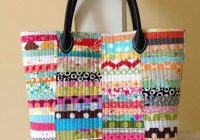 its in the bag 6 quilted purse patterns perfect for Modern New Fabric Quilted Tote Bags Inspirations