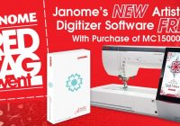 janome red tag sale Modern Heartfelt Quilting Sewing Winter Haven Gallery
