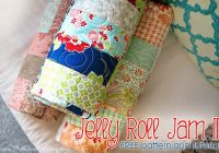 jelly roll jam ii free quilt pattern with fat quarter shop Modern Fat Quarter Jelly Roll Quilt Gallery