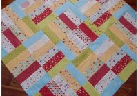 jelly roll quilt along 2 hummingbird thread Interesting Jelly Roll Jam Quilt Pattern Inspirations