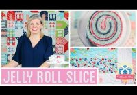 jelly roll slice easy quilting tutorial with kimberly jolly Elegant Youtube Jelly Roll Quilt Patterns Inspirations