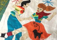 join the retro flash quilt sew along block 7 is now available Modern Flash Sew And Quilt