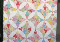 kaleidoscope quilt vintage style with lecien retro 30s Modern Vintage Style Quilts Gallery