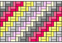 knowgirls design craft diy Elegant Chevron Quilt Pattern Using Rectangles