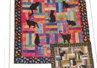 lap kitties quilt pattern from prairie pieces cat applique quilt pattern gift for quilter fat quarter quilt pattern easy quilt pattern Interesting Applique Cat Quilt Patterns