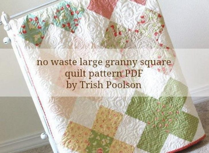 Permalink to Elegant Granny Square Quilt Pattern