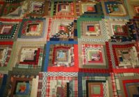late 19th century log cabin style quilt gateway arch Cozy Log Cabin Quilt Pattern History