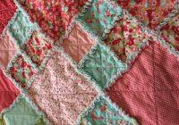 layer cake rag quilt free pattern flannel rag quilts rag Quilt Patterns Pictures Of Rag Quilts Inspirations