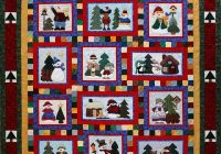 let it snow sonyas snippets Snowman Collector Quilt Pattern Gallery