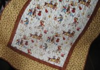 little buckaroo vintage cowboy quilt 10500 via etsy Interesting Vintage Cowboy Quilt Gallery