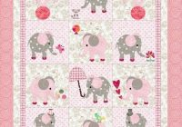 little girls quilt pattern elephants Elegant Quilt Patterns For Little Girls Inspirations