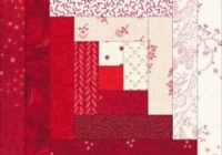 log cabin quilt block need cutting instructions for a 9 Interesting Log Cabin Quilt Block Patterns Gallery