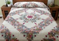 lone star log cabin quilt splendid cleverly made amish Stylish Lone Star Log Cabin Quilt Pattern Free Inspirations