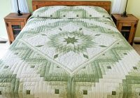 lone star log cabin quilt wonderful adeptly made amish Stylish Lone Star Log Cabin Quilt Pattern Free Inspirations