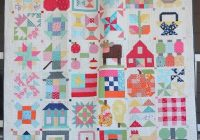 lori holts vintage farm girl quilt in 12 blocks quilts Modern Farm Girl Vintage Quilt