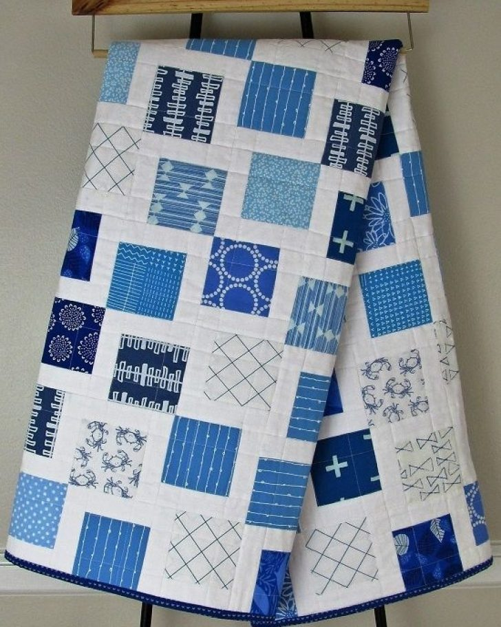 Permalink to Unique Blue And White Quilt Patterns Gallery