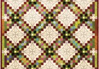 love the quilting pattern and border for this triple irish Modern Triple Irish Chain Quilt Pattern Gallery