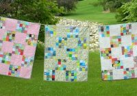make a charming 16 patch ba quilt quilting digest 11 Cozy 16 Patch Quilt Block Patterns Inspirations