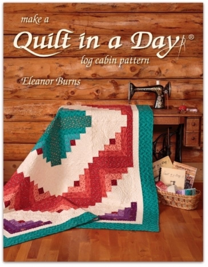 Permalink to Make A Quilt In A Day Log Cabin Pattern Inspirations
