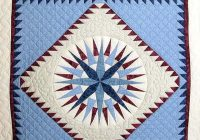mariners compass quilt outstanding adeptly made amish Modern Mariners Compass Quilts