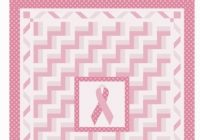 michele bilyeu creates with heart and hands breast cancer Cool Cancer Ribbon Quilt Pattern Gallery