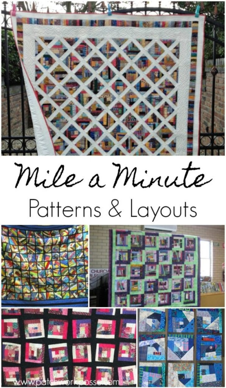 Permalink to Interesting Mile A Minute Quilt Pattern