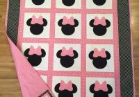 minnie mouse quilt quilts disney quilt ba girl Elegant Minnie Mouse Baby Quilt