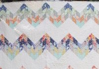 misty mountain zig zag quilt simple with a jelly roll Easy Zig Zag Quilt Pattern Inspirations