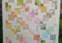 moda hunky dory charm pack quilt using disappearing 9 patch Elegant Quilt Charm Packs Inspirations