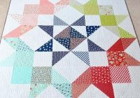 moda love quilt in vintage picnic fabric quilts and Modern Vintage Picnic Quilt Gallery