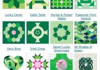 Modern 12 free quilt block designs for irish quilt patterns irish 9 Modern Celtic Quilting Patterns