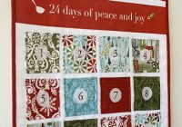 Modern advent calendar wall hanging a tutorial advent calendar 9 Cool Quilted Advent Calendar Pattern Inspirations