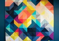 modern ba quilt patterns free modern quilts tutorial what a Stylish Triangle Modern Quilt Guild
