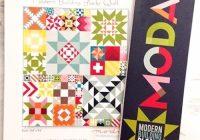 modern building blocks quilt pattern moda 752106150294 Modern Building Blocks Quilt Pattern
