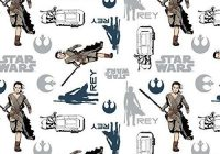Modern details about disney star wars fabric camelot rey 9   Unique Star Wars Quilting Fabric Inspiration Gallery