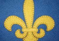 Modern fleur de lis applique block wee folk art 10 Stylish Free Fleur De Lis Quilt Pattern