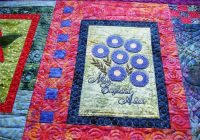 Modern how to quilt embroidery on quilts apqs 9 Stylish Embroidery Patterns For Quilts Gallery