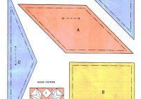 Modern missouri star quilt block quilt pattern designed a man 10   Missouri Quilt Block Patterns Gallery