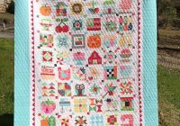 Modern my first major quilt completion from a pattern farm girl 11 Cozy Farm Girl Vintage Quilt Book Inspirations