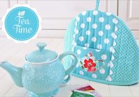 Modern pretty teapot cozy sew4home 9 Modern Quilted Tea Cosy Pattern Inspirations