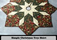 Modern quilted christmas tree skirt pattern 11 Modern Quilt Tree Skirt Pattern Gallery