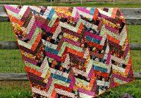 Modern quilting land autumn vibes friendship braid quilt 9 Stylish Friendship Braid Quilt