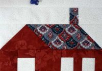 Modern school house quilt block all about inklingo blog 11 Elegant Schoolhouse Quilt Block Pattern Gallery