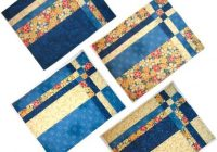 Modern take four placemat pattern patchwork vzory prostrn Patterns For Quilted Placemats Inspirations