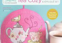Modern tea time tea cozy pdf pattern plus appliqu set 9 Interesting Quilted Tea Cozy Pattern Gallery