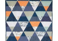 modern triangle quilts pattern collection Cozy Triangle Pattern Quilt Inspirations
