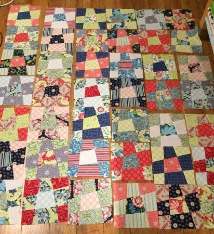 Permalink to 10 Unique Crazy 9 Patch Quilt Pattern Gallery